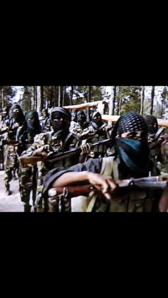 The Pakistani terrorist organizations. Should India choose to go to war with Pakistan, this is one of the five fingers on the five finger fist that Pakistan will deliver to them. More at http://andrewtheprophet.com/blog/2014/08/25/pakistans-five-fingered-fist/