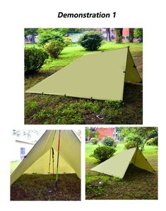 HAMMOCK COMPACT CAMPING OUTDOORS EMERGENCY SURVIVAL GEAR PORTABLE YARD OR DECK