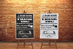 Thank You to our friends and family Wedding by inspiredcompany4u
