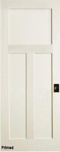 3 panel Mission interior door