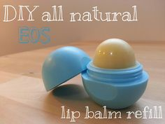 DIY Natural EOS Refill (Homemade Lip Gloss) | Spiraea Herbs