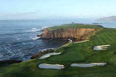 Pebble Beach Golf Links : HOLE 8 Par 4 | Yards 418.