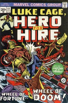 Hero for Hire # 11 by Billy Graham
