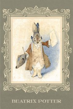 New Wall Illustration Beatrix Potter Ideas Lapin Art, Beatrix Potter Illustrations, Alfabeto Animal, Beatrice Potter, Peter Rabbit And Friends, Rabbit Art, New Wall, Whimsical Art, Art Pictures