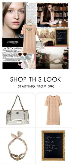 """i see pixies in my eyes"" by emilie-ethereal ❤ liked on Polyvore featuring Chanel, Marc by Marc Jacobs, FABIANA FILIPPI, WALL and Nina Ricci"