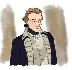 """publius-esquire: """"Quick sketch of John Laurens, the best thing to come out of South Carolina """" John Laurens, Hamilton Musical, Alexander Hamilton, Quick Sketch, Esquire, Marie Antoinette, Aesthetic Art, South Carolina, American History"""