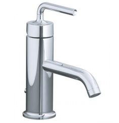 Kohler Purist Single-Control Lavatory Faucet With Lever Handle