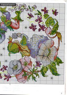 Календарь - Схемы вышивки крестом, вышивка крестиком