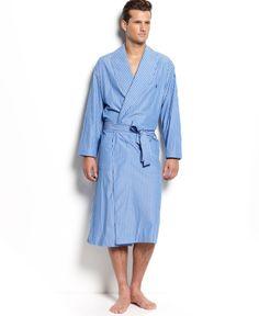 Polo Ralph Lauren Men's Manhattan Striped Robe