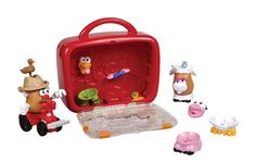 Playskool Mr Potato Head Little Taters Farm Play Case * Learn more by visiting the image link.