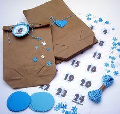 Adventskalender Schneeflocke von iLike_specials aus Berlin auf DaWanda.com