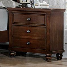 Vaughan bassett on pinterest queen bedroom night stands for Ellington bedroom set