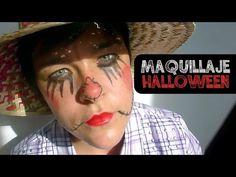 ▶ DIY MAQUILLAJE ESPANTAPÁJAROS (HALLOWEEN) ♥ Qué cositas - YouTube