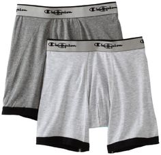 Champion Men's Performance 2 Pack Stretch Boxer Brief