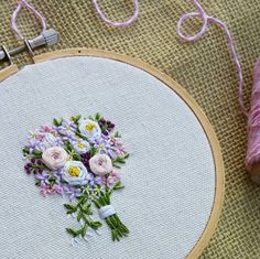 Those tiny little details make all the difference!  #embroidery #embroidered #needlework #bouquet #bouquets #flower #floral #florals #flowerstagram #flowers #flowerstagrammer #flowersofinstagram #floraldesign #create4spring #weddings #bridalbouquet #weddingbouquet #ourbestfinds #handmadeisbetter #handmadewithlove #thehandmadeparade #handmadecurator #weddingdetails #wedding #weddingflowers #weddingflorals #itsallinthedetails #etsy # #modernmaker