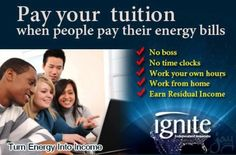 How long will it take to pay your tuition after you graduate?  The bigger question is will you be able to get a job after you do?  There is a Plan B.  www.robertavery.myignite.com