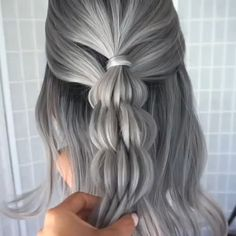 Repost bushel braid by amazing samirasjewelry it sure was geflochtene hochsteckfrisur fr haare Cute Hairstyles, Braided Hairstyles, Hairstyle Ideas, Plaited Hairstyle, Mermaid Hairstyles, Model Hairstyles, Hairstyle Tutorials, School Hairstyles, Wedding Hairstyles