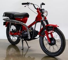Honda CT90 ... like the one my grandmother used to ride. @Leigh Klein