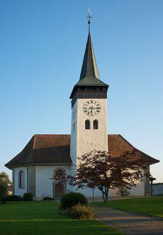 Evenagelische Kirche Thunstetten, Switzerland