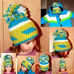 Jelikož návody psát bohužel neumím, napíši alespoň zjednodušený popis vzorečku...:-)<br><br>Je to ce... Crochet Hats, Fashion, Beanies, Beret, Knitting Hats, Moda, La Mode, Fasion, Fashion Models