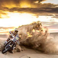 Take the sand by storm. : @jordiviladoms : @fourohfour_films #Dakar #dakar2016 #motorsport by redbull