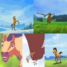 Spirit And Rain, Horse Movies, Beagle, Dreamworks Animation, Cartoon Movies, Horses, Cartoons, Films, Disney
