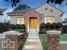 Photo of a brick house exterior from real Australian home - House Facade photo 226476