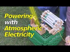 Atmospheric Electricity Powering a Corona Motor/Electrostatic Motor - Solar Power Panels, Solar Power System, Renewable Energy, Solar Energy, Tesla Electricity, Atmospheric Water Generator, Einstein, Alternative Energy Sources, Energy Projects