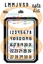 Mini calendario - Latina Crafter