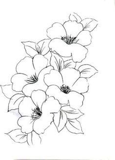 Шаблоны цветов для рисования. Обсуждение на LiveInternet - Российский Сервис Онлайн-Дневников