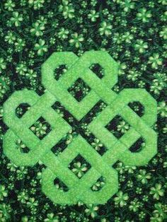 Love this celtic looking heart! Lucky Charms - via @Craftsy