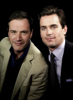 Peter Burke and Neal Caffrey in White Collar - excellent show!  llk