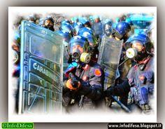"""Carabinieri: """"chi lo dice che non vogliamo scioperare? Noi ...."""