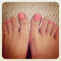 Pink & Gold.