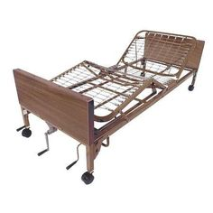Drive Medical Multi Height Manual Hospital Bed with Full Rails - 1 ea