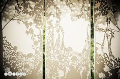 Paper panels - Wedding backdrop