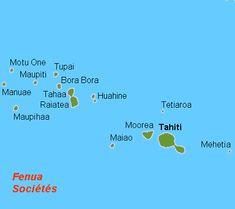 * Arquipélago da Sociedade *  Ilhas de Sotavento. Polinésia Francesa.