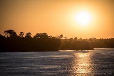Sunset cruise on river Cruise, River, Celestial, Explore, Sunset, Outdoor, Zimbabwe, Waterfall, Nature
