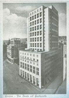 GIUSEPPE ROSSO Piazza Dante, Grattacielo Nord 1935-1937 (sino al 1940 fu il più altro edificio italiano)
