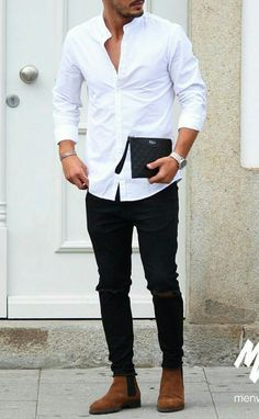 Topic 2 C: Outfit for the Groom at Engagement Party #FallFashionTrends