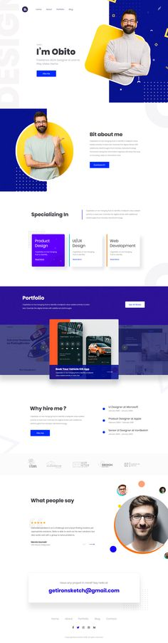 Recently, I built the web portfolio website. After doing this, I noticed 5 items that I thought could improve just about any web portfolio. Web Design Trends, Web Ui Design, Page Design, Blog Design, Portfolio Design, Portfolio Web Design, Portfolio Website, Portfolio Layout, Print Layout