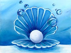 Join us for a Paint Nite event Fri Jun 2018 at 1010 Ave Se Calgary, AB. Purchase your tickets online to reserve a fun night out! Painting & Drawing, Watercolor Paintings, Sea Life Art, Pearl Paint, Underwater Painting, Oil Pastel Art, Learn To Paint, Acrylic Art, Painting Inspiration