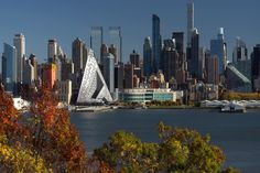 Skandimerikanisches Wohnen - Courtscraper von BIG in NYC fertiggestellt