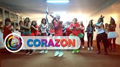 Maluma - Corazon   Zumba Fitness Choreo   HNY 2018 - YouTube