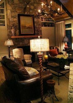 rental home living room