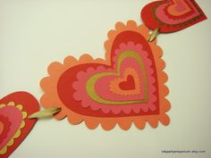 Valentine Heart Banner Valentine Day