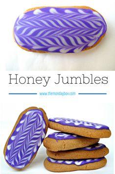 Honey Jumbles- Australia's favorite chewy honey cookie!   The Monday Box