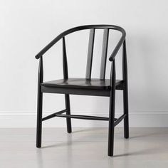 Sculpted Wood Dining Chair - Hearth & Hand™ With Magnolia : Target Windsor Dining Chairs, High Back Dining Chairs, Black Dining Chairs, Wooden Dining Chairs, Upholstered Dining Chairs, Target Dining Chairs, Black Kitchen Chairs, Industrial Dining Chairs, Farmhouse Dining Chairs