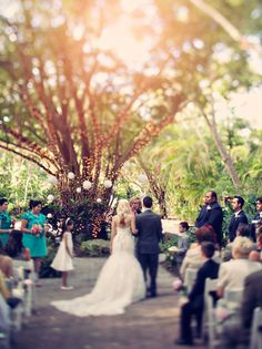 whimsical/vintage wedding