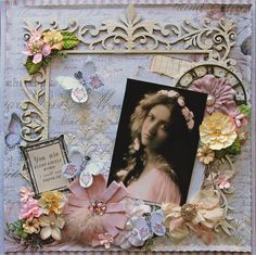 Lovely *Scraps Of Darkness* February Kit~Touch Of Grey - Scrapbook.com
